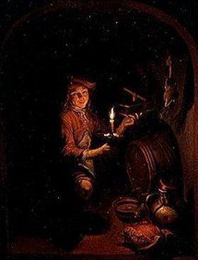 Gerrit (Gerard) Dou: Der Knabe mit der Mausefalle