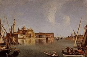 Michele Marieschi: Vedute der Isola San Giorgio und der Punta della Giudec