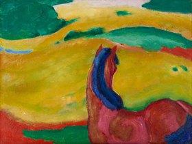 Franz Marc: Pferd in der Landschaft