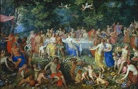 Hendrick van Balen: Das Göttermahl