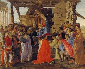 Sandro Botticelli: Die Anbetung der heiligen drei Könige