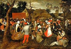 Pieter Brueghel d.Ä.: Bäuerliche Gesellschaft