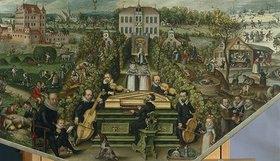Frederick van Valckenborch: Musizierende Gesellschaft im Freien