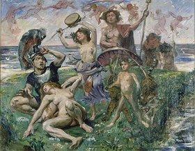 Lovis Corinth: Ariadne auf Naxos