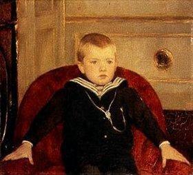 Fernand Khnopff: Bildnis Henri de Woelmont als Kind