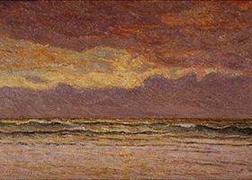 Maxime Maufra: Sonnenuntergang über dem Meer