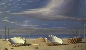 Pierre Roy: Strandlandschaft mit Muscheln