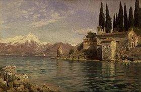 Peder Moensted: St.Vigilio am Gardasee