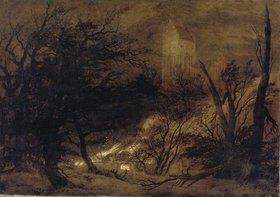 Caspar David Friedrich: Feuersbrunst