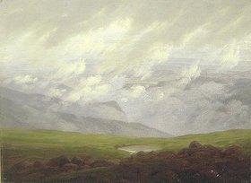 Caspar David Friedrich: Ziehende Wolken