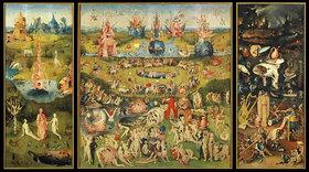 Hieronymus Bosch: Der Garten der Lüste. Totale