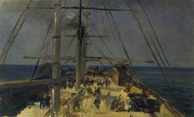 Théodore Gudin: Blick auf ein Schiffsdeck