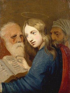 Johann Friedrich Overbeck: Der 12-jährige Jesus mit den Schriftgelehrten