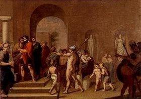 Johann Friedrich Overbeck: Jason vor seinem Onkel Pelias