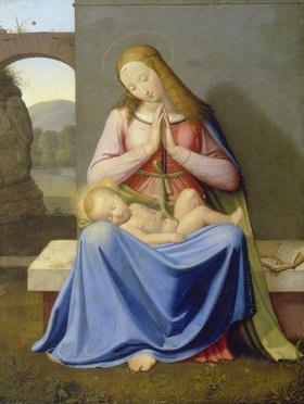 Johann Friedrich Overbeck: Die Madonna vor der Mauer