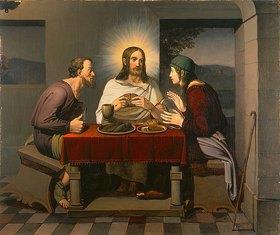 Johann Friedrich Overbeck: Christus und die Jünger in Emmaus