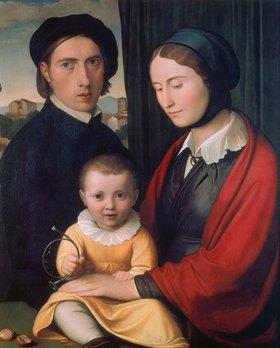 Johann Friedrich Overbeck: Familienbild