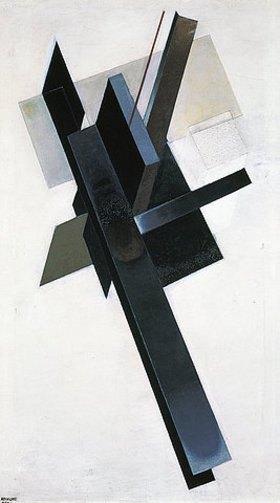 Gustav Kluzis: Axonometrisches Gemälde