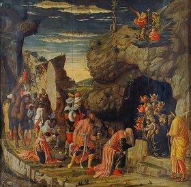 Andrea Mantegna: Die Anbetung der Könige (mittlere Tafel)