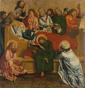 Meister von Uttenheim: Tod Mariae