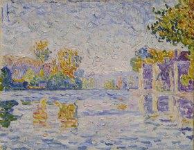 Paul Signac: Die Seine bei Samois