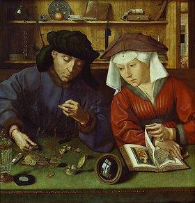 Quinten Massys: Der Geldwechsler und seine Frau