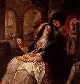 Simon de Vos: Dame und Kavalier in einer Schenke