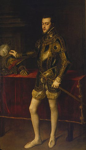 Tizian (Tiziano Vecellio): Bildnis Philipps II