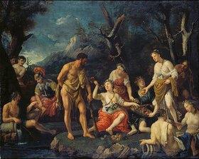 Johann Heiss: Herkules im Garten der Hesperiden