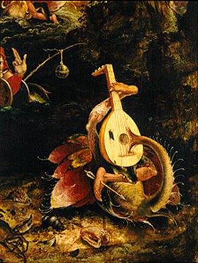 Jan Mandyn: Detail aus Der hl.Christophorus