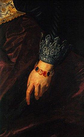 Peter Paul Rubens: Rubens und Isabella i.der Geißblattlaube Detail: Hand der Isabella