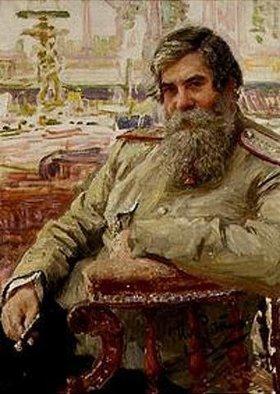 Ilja Efimowitsch Repin: Bildnis des Neurologen Wladimir von Bechterew (1857-1927)