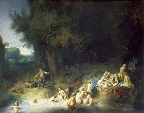 Rembrandt van Rijn: Diana im Bade mit Aktaeon und Kallisto