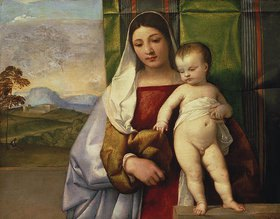 Tizian (Tiziano Vecellio): Die Zigeunermadonna