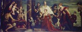 Paolo (Paolo Caliari) Veronese: Die Madonna mit der Familie Cuccina