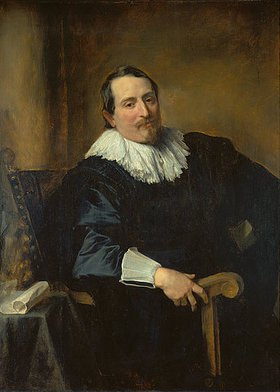 Anthonis van Dyck: Bildnis des Malers Theodor Rombouts(?)