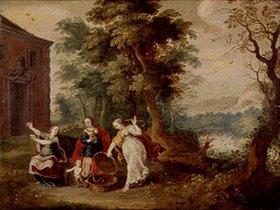 Jasper van der Lanen: Aglauros, Padrosos und Herse mit Erechtheus