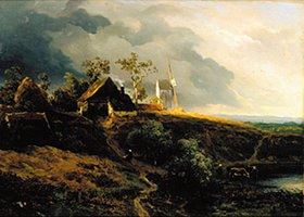 Andreas Achenbach: Westfälische Landschaft