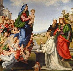 Fra Bartolomeo: Die Vision des hl. Bernhard
