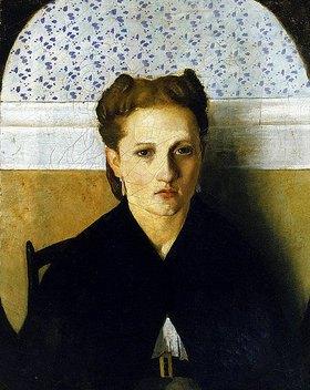 Adriano Cecioni: Bildnis der Frau des Künstlers