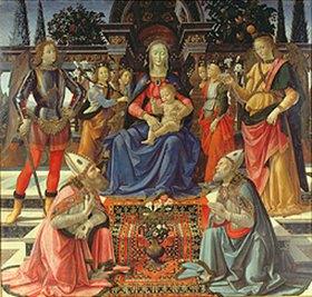 Ridolfo Ghirlandaio: Altar des Heiligen Justus
