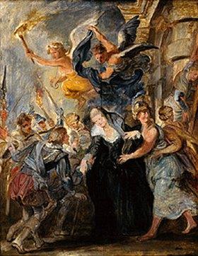 Peter Paul Rubens: Die Flucht von Blois (21./22.Februar 1619)