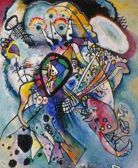 Wassily Kandinsky: Zwei Ovale