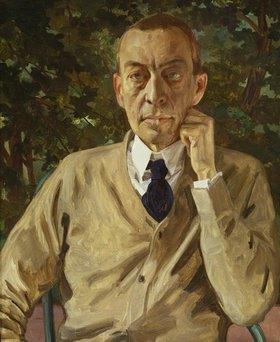 Konstantin Somow: Bildnis des Komponisten Rachmaninow