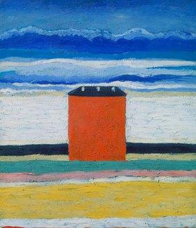 Kasimir Malewitsch: Rotes Haus