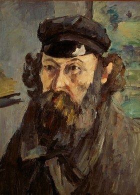 Paul Cézanne: Selbstbildnis mit Mütze