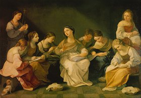 Guido Reni: Die Jugend der Maria