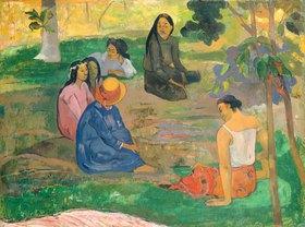 Paul Gauguin: Konversation auf Tahiti (Les Parau Parau)