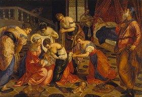 Tintoretto (Jacopo Robusti): Die Geburt Johannes des Täufers