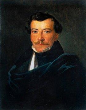 Ferdinand Georg Waldmüller: Bildnis des Lukas von Martinelli